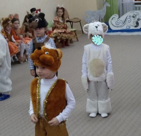 Костюм белого мишки(прокат)