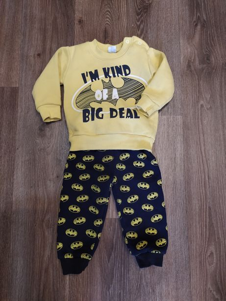 Теплый костюм для мальчика новорожденного, бэтмэн