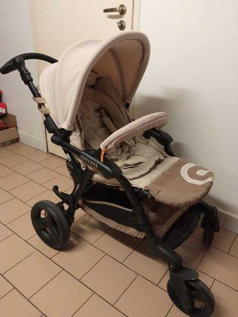 Wózek CONCORD FUSION 3W1 (gondola, spacerówka,nosidełko) Z BAZĄ ISOFIX