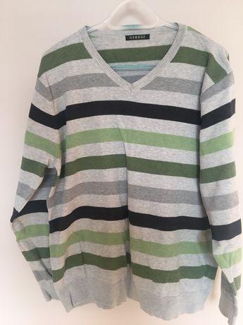 Męski sweter bawełniany