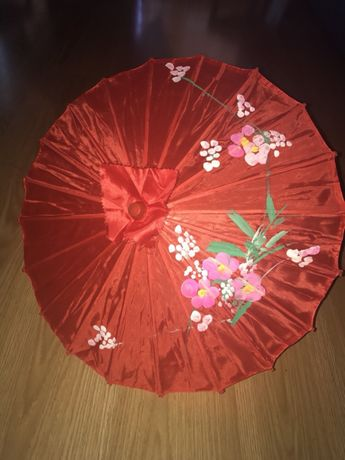 Chapéu de sol de chinesa
