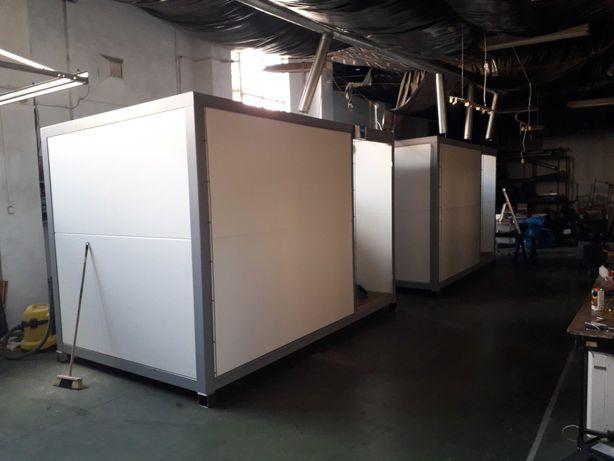 kontenery biurowe, użytkowe, lokale