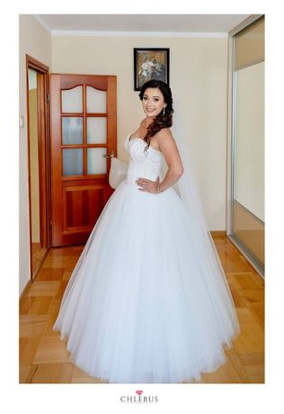 Sprzedam suknię ślubną typu Princessa