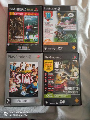 4 jogos para a PS2