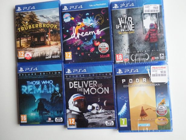 PS4 Those Who Remain Deliver Us The Moon The Journey This War Of Mine