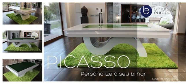 Bilhar Europa Fabricante PME LIDER Mod Picasso Oferta tampo de jantar
