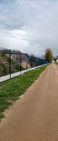 Panel ogrodzeniowy Ogrodzenia panelowe Panel 3 D Montaż  Siatka Płot