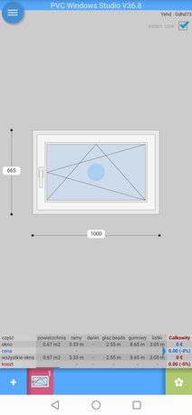 Nowe Okna PCV różne wymiary.