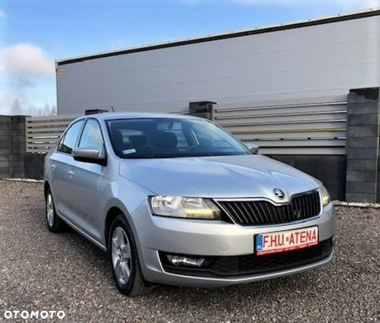 Škoda RAPID Rapid 1,6 TDI Na Gwarancji