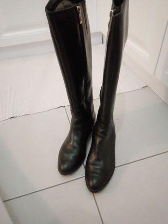 Сапожки, сапоги, чоботи натуральна шкіра