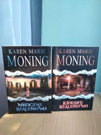 Fantasy książka Mroczne Szaleństwo,Krwawe Szaleństwo Karen MarieMoning