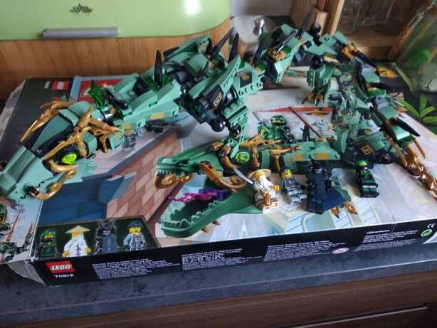LEGO Ninjago Movie Mechaniczny smok zielonego 70612 REZERWACJA