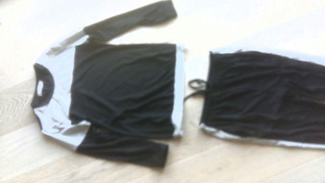 dres damski domowy piżama AIBROU bluza i spodnie rozmiar S
