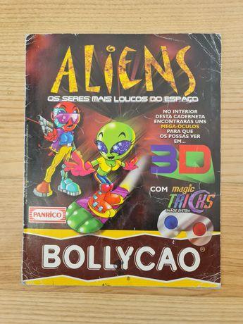 Caderneta Aliens Bollycao (1998)