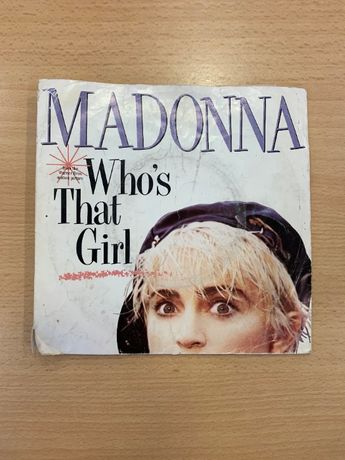 "Disco Vinil ""Madonna - Who´s That Girl"" (Usado)"