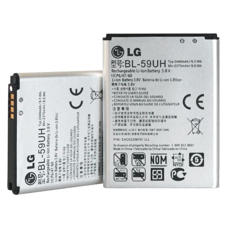 Oryginalna bateria LG G2 MINI D620 F70 BL-59UH
