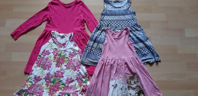 4 x sukienka h&m 5-6lat