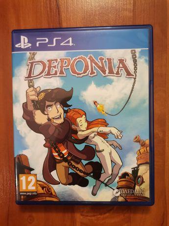 Super gra na ps4 Deponia jak nówka PlayStation 4 konsola wysyłka
