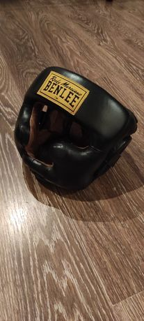 Шлем боксерский BENLEE FULL FACE (blk) натуральная кожа L/XL