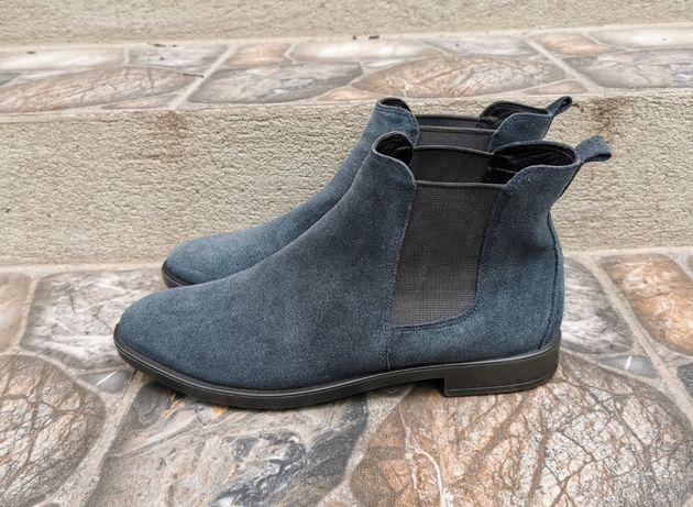 40 р. Кожаные челси сапоги ботинки ECCO Shape Оригинал
