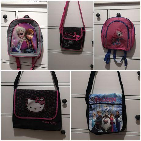 Kraina Lodu, Pinkie Pie,Barbie torby, torebki, plecaki dla dziewczynki