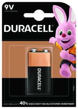 1 x bateria 6LR61/9V (R9*) Duracell (blister)