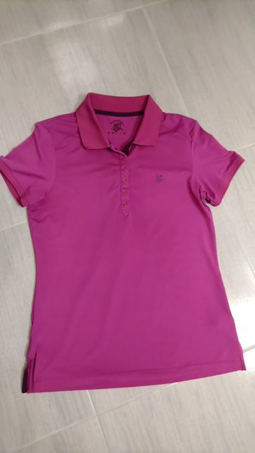 Koszulka sportowa polo damska 40