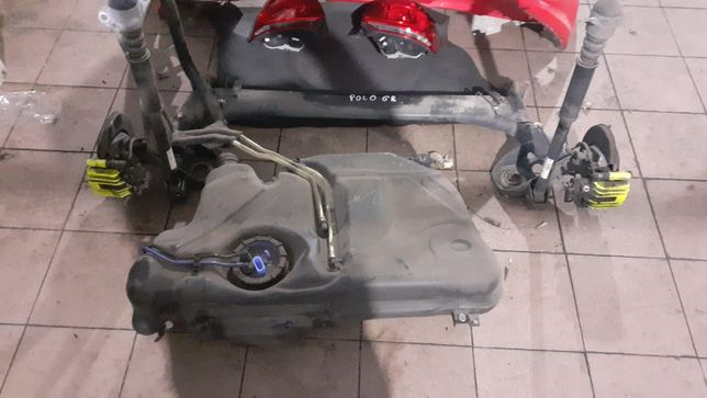 oś tył, belka wleczona VW Polo 6R, TSi HB 3D