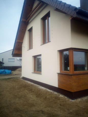 docieplenie, termomodernizacja budynku, malowanie elewacji