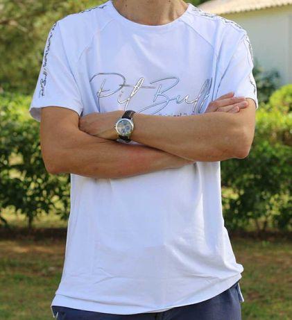 T-shirt de homem pitbull jeans M. L.XL