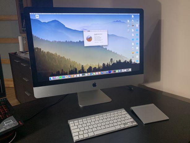"""Apple iMac 27"""" i7, 12GB ram, 480gb SSD + klawiatura+ trackpad CATALINA"""