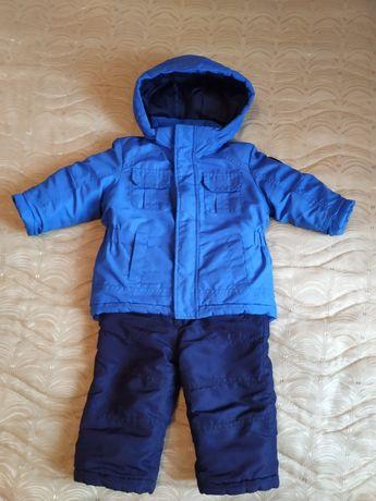 Курточка парка куртка курточка осень + полукомбинезон
