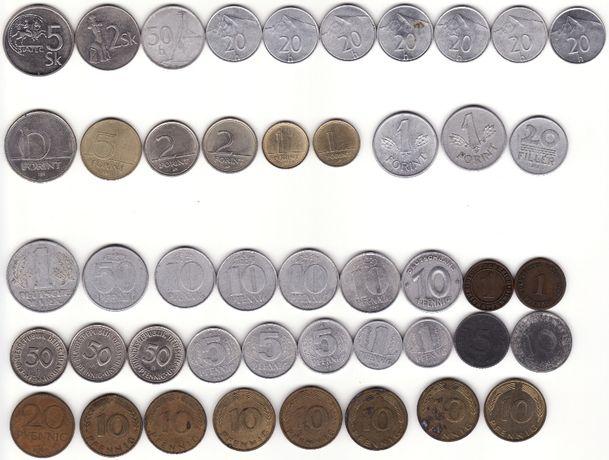 Монеты коллекция, монети 75штук.