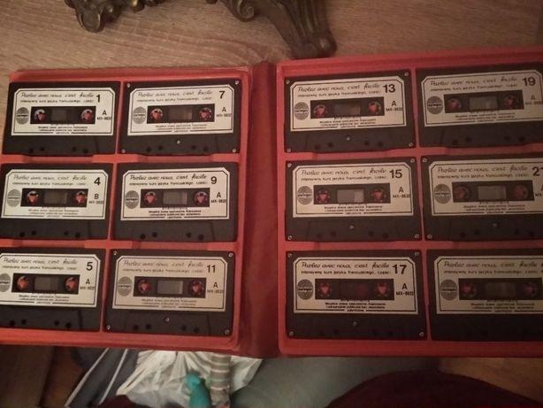 Parlez avec nous - komplet kaset kurs języka francuskiego