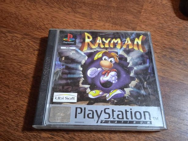 Rayman na PlayStation 1 + karta pamięci + pad + instrukcje