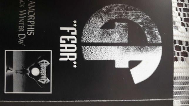 Gorefest Fear Ep + Amorphis Black winter day ep kaseta