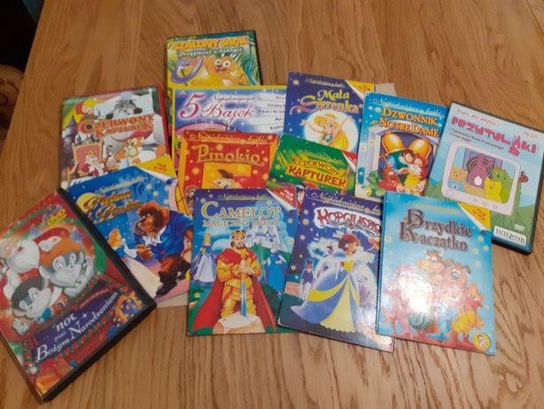 zestaw bajek zestaw DVD