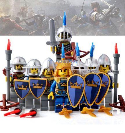 Bonecos minifiguras Cavaleiros nº10 (compativel com Lego)