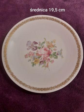 Talerzyk deserowy porcelana antyki kolekcje