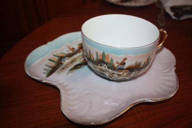 Chávena Almoçadeira com prato Vista Alegre nº 21 1881/1921