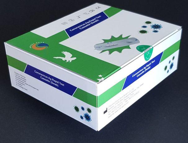 20 sztuk antygenowych testów wymazowych wykrywających zarażenie COV19