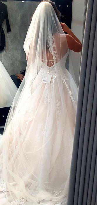 Suknia ślubna z trenem rozmiar 38. Stella York 6886 + welon Gorzów Wielkopolski - image 1