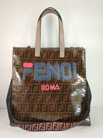 Большая эксклюзивная очень вместительная сумка - шоппер Fendi