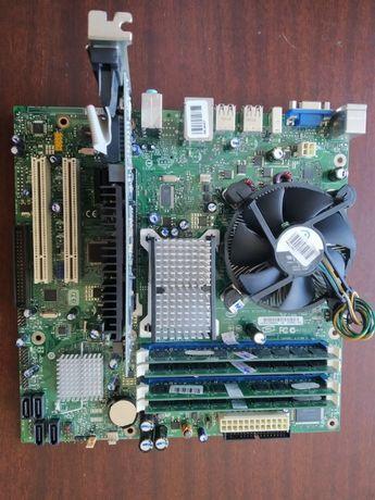 Комплект Intel E8500 + DG33BU + 4Gb + видеокарта Radeon HD5450