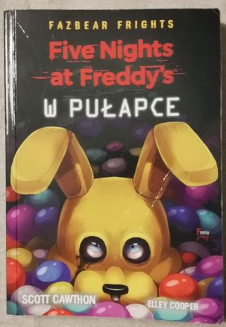 Książka Five nights at Freddy's Scott Cawthon Elley Cooper
