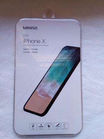 Szkło ochronne do iPhone X.