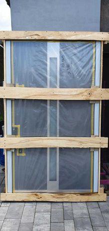 NOWE Drzwi Wejściowe zewnętrzne Aluminiowe THERMO ALU MB Si +