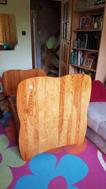 Drewniane łóżeczko m. Gluck