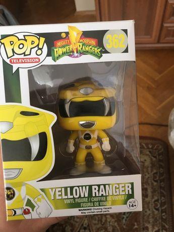 Funko POP MMPR Power rangers Yellow ranger żołta