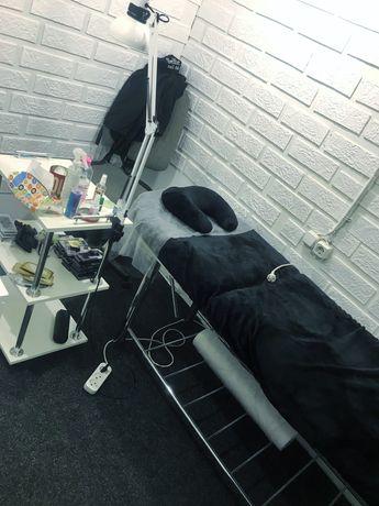 Сдам кабинет с кушеткой и в другой комнате стол визажиста бровиста